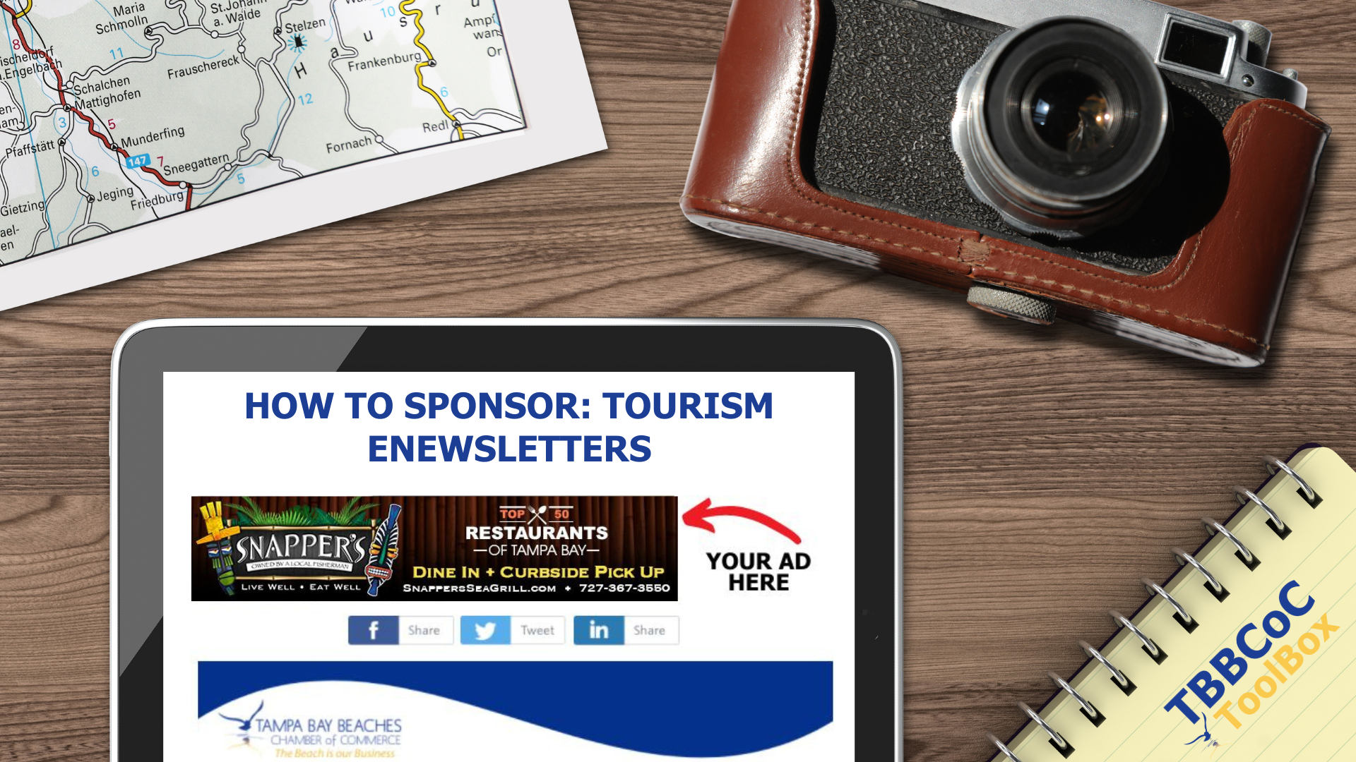 Image for How To Sponsor: Tourism e-Newsletters