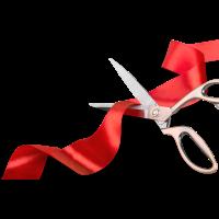 Beach Groomers Pet Salon Ribbon cutting