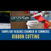 Virtual Ribbon Cutting: Grove Surf + Coffee