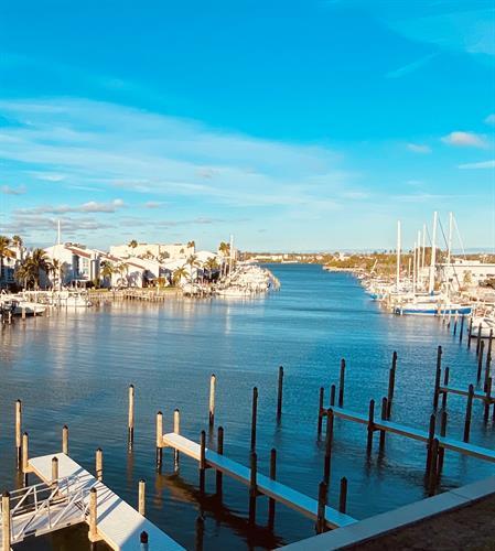 Boca Ciega Bay and Boat Slips