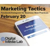 Digital Media Series - Marketing Tactics for Facebook/Instagram
