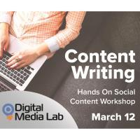 Digital Media Series - Content Writing