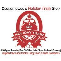 Oconomowoc's Holiday Train Stop