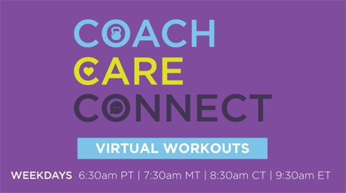 Our Health Is More Important Than Ever, So We've Created Virtual Workouts To Keep Us Moving, Anytime, Anywhere.