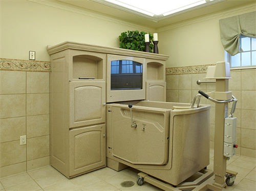 Lake Country Health Services Spa Room