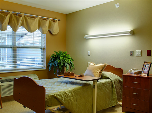Lake Country Health Services  Resident Room