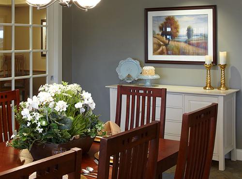 Lake Country Landing Family Dinning Room