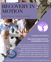 Recovery in Motion - Adult Substance Abuse Support Group