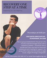 Recovery One Step at Time - Adult Substance Abuse Support Group