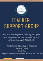 Teacher Support Group -Teachers and School Staff