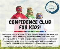 Confidence Club - Kids social skills group