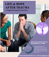 Life & Hope after Trauma - Adult Survivors of Trauma Support Group
