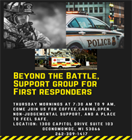 Beyond the Battle for 1st responders - First Responders Support Group