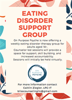 Adolescent Eating Disorder Support Group