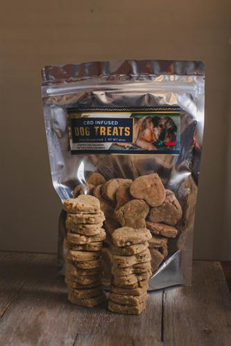 CBD InfusedDog Treats, 2mg CBD each treat