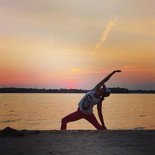 Bender Beach Oconomowoc, Sunset Yoga