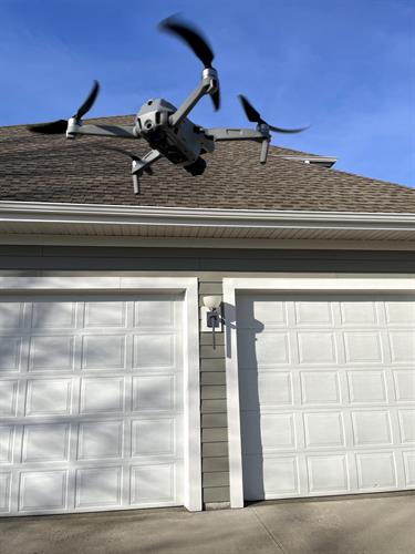 Drone Roof and Elevated Exterior Check
