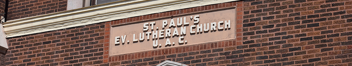 St. Paul's Ev. Lutheran Church, School & Early Childhood Center