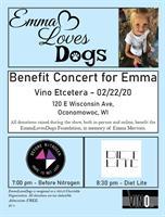 Emma Loves Dogs Benefit Concert