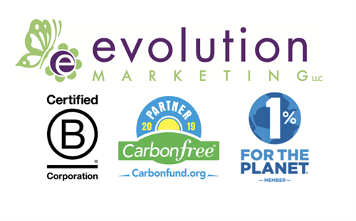 A Certified B Corporation®, Carbonfree® Business Partner & 1% for the Planet Member