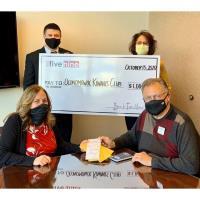 Bank Five Nine Makes Donation to Oconomowoc Kiwanis Fundraiser