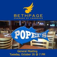 October General Meeting at Popei's
