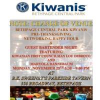 Kiwanis Guest Bartender
