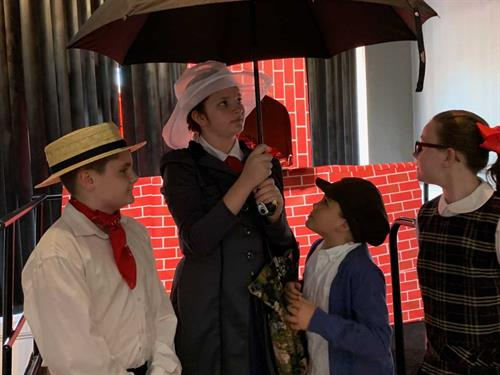 Production of Mary Poppins Our Musical Theatre Class