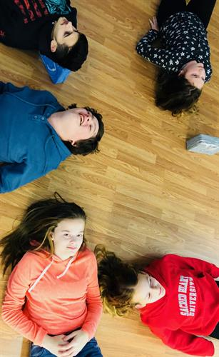 Teen Actors opening their emotions on the Heart Bench