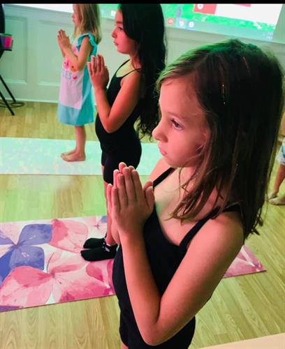Yoga with the Heart Classes for ages 4 and up!
