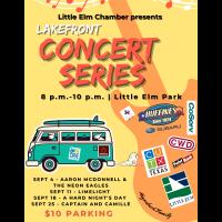 Lakefront Concert Series - September 2021