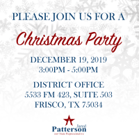 Holiday Party and Ribbon Cutting for HD 106