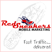 Red Sneakers Mobile Marketing