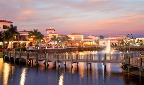 Coconut Point Boardwalk, Twilight
