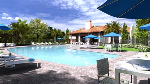 Relax and enjoy the resort style pool, deck and grilling area