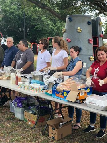 Providing meals and necessities to the homeless and families in need in SWFL.