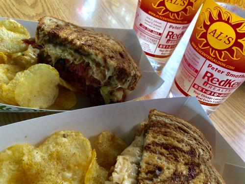 worth waiting for: the Al's Reuben