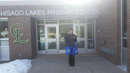 Primary Confernces--donation of snacks for the teachers