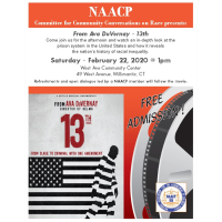 NAACP Community Conversation on Race