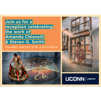 Artist Reception at UCONN Library