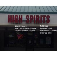High Spirits - Change to Operation of Business During COVID-19 Pandemic