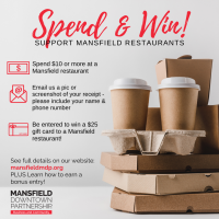 Mansfield Downtown Partnership Announces Gift Card Giveaway