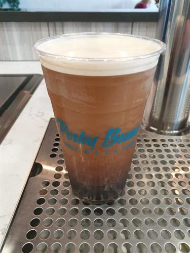 Nitro and Cold Brew on tap