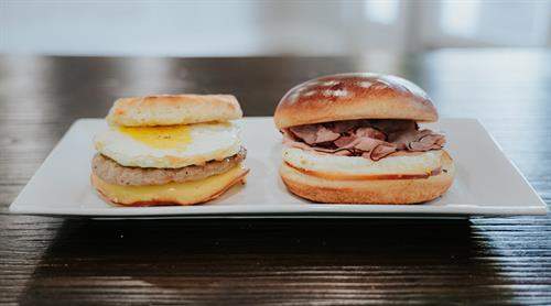 DELICIOUS Breakfast Sandwiches