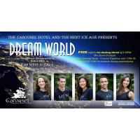 """Free Nightly Ice Shows """"Dream World"""" at the Carousel Hotel! (No shows Fridays)"""