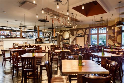 On-site restaurant, Touch of Italy, featurin Italian cuisine, bar, and full-service deli