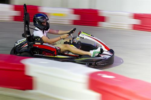 Karts reach speed up to 30 MPH!!