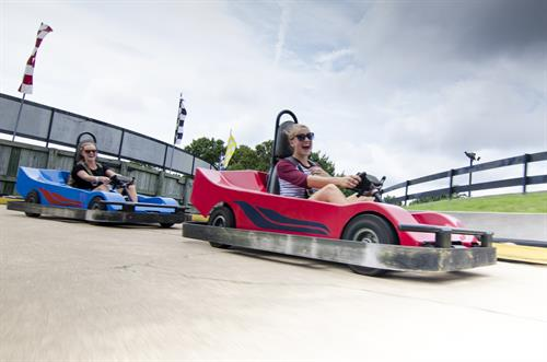 Family Track, Family Gran Prix & Corkscrew... Single-Seat and Double-Seat Go-karts!