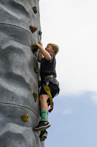 2 CLIMBING WALLS - 24ft & 32ft TALL