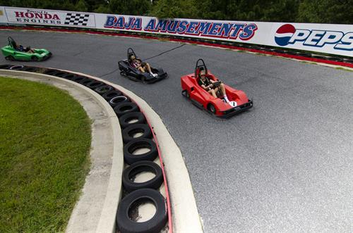 ROAD RACER - Single Engine and Twin Engine Karts.... Longest Track @ 3/8th of a mile!